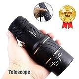 Panda Nachtsicht Monokular Teleskop 16X52, Mamum Super High Power 16X52, Tragbares HD OPTICS BAK4 Nachtsicht Monokular Teleskop