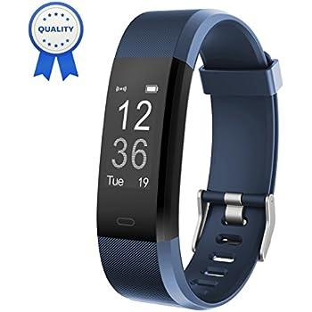HolyHigh Pulsera Actividad YG3 Plus HR Monitor de Ritmo cardíaco Seguimiento de Actividad con Impermeable/pedómetro/Llamada Mensaje Alerta/Monitor ...