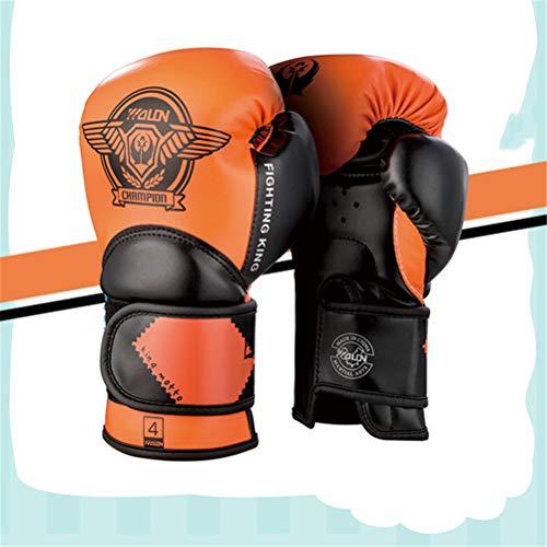 Guantoni da Box per Bambini Junior Punch Bag MMA Training Guanti Muay Thai da 4-oz 6-oz per Bambini di età Compresa tra 3 e 11 Anni,B,6OZ