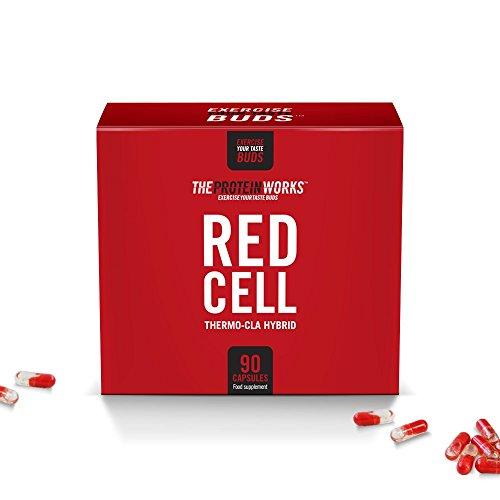 Red-Cell/von THE PROTEIN WORKS / 90 Kapseln/Damit setzt du neue Ziele für eine schlanke Muskeldefinition -