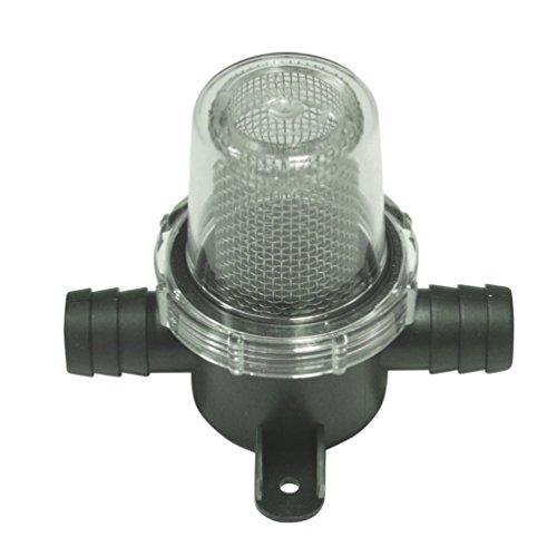 Preisvergleich Produktbild Wasserfilter Grob Filter für 19 mm Wasserschlauch Wasserpumpe Vorfilter Wassertank Einbaufilter Druckwasserpumpe
