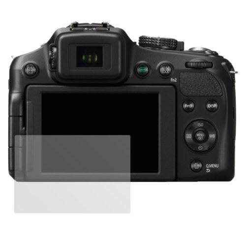 dipos I 6X Schutzfolie matt passend für Panasonic Lumix FZ200 Folie Displayschutzfolie