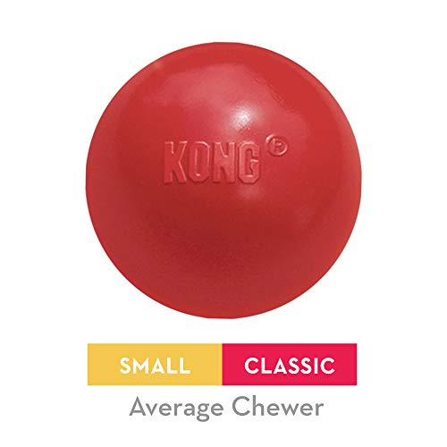 KONG - Ball with Hole - Juguete buscar caucho resistente