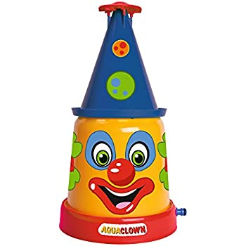 Smoby Big - 800076548 - le Clown Arroseur - Jeu d'Eau - Jeu de Plein Air