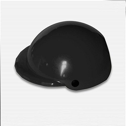 Helme Haustiere Ridding Cap Doggie Welpen Motorrad Schützen Hund katze kunststoff Kostüme Biker hut (black) (Orange Ist Das Neue Schwarze Kostüm)