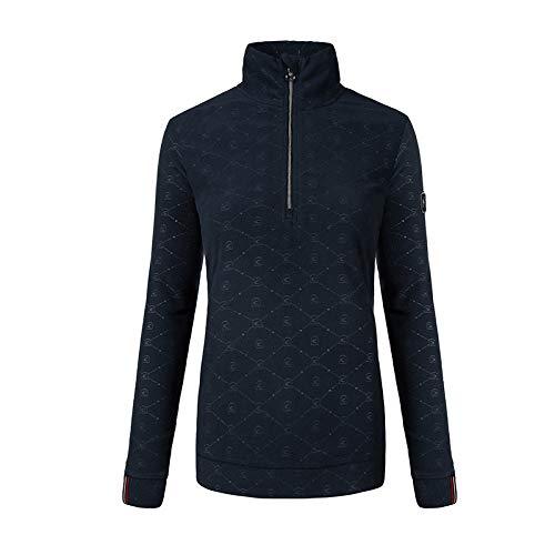 Cavallo Oviedo Damen Fleece-Shirt darkblue HW 19, Ca19_HW_Gr.:40