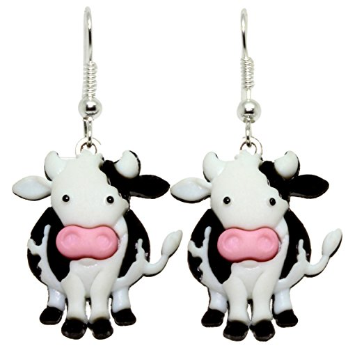 bluebubble-cows-go-moo-daisy-cow-dangle-earrings-with-free-gift-box