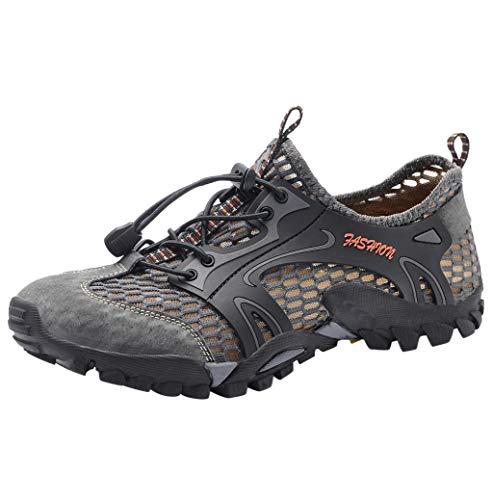 Jimmackey Sandali Sneakers Sportivi Estivi Uomo Trekking Scarpe da Spiaggia All'aperto Pescatore Piscina Acqua Mare Escursionismo Leggero Scarpe Sportive