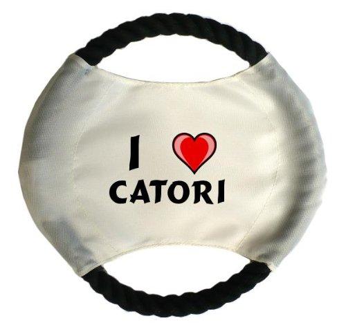 personalisierter-hundefrisbee-mit-aufschrift-ich-liebe-catori-vorname-zuname-spitzname