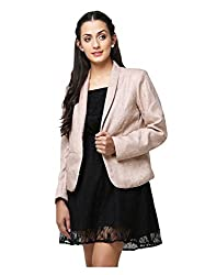 Yepme Womens Beige Cotton Blazers - YPMBLZR5008_XS