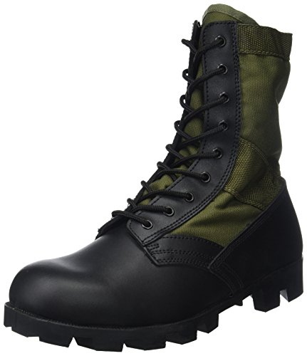 am Era Jungle Mens Boots Military Panama Sole, Olive, 43 EU (9 UK) (Jungen Military Stiefel)