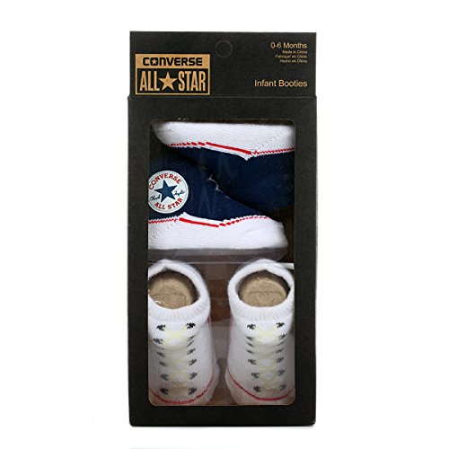 11318202-CNV001 TWIN PACK BOOTIE NVY/WHT PLU 83A Colour: NAVY/WHITE / Size: ONE SIZE / -