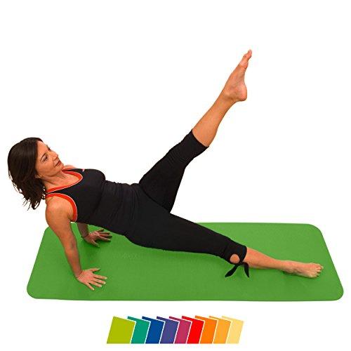 AIREX® Fitness Matte 140x58x1 Gymnastik Studio inkl. Zertifikat kiwi