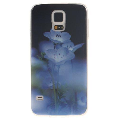 Cozy Hut Schutzhülle / Cover / Case Bunte Muster Weich TPU Handy Hülle für Samsung Galaxy S5 I9600,Ultra Slim Dünn Silikon TPU Transparent für Samsung Galaxy S5 I9600 Hülle , (Zombie Rucksack Baby)