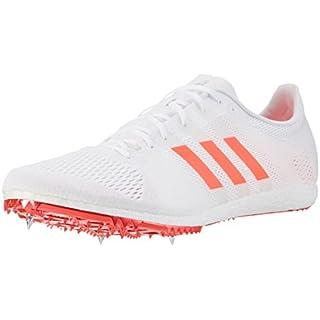 adidas Herren Adizero Avanti Laufschuhe, Weiß (Footwear White/solar Red/Silver Metallic), 46 EU