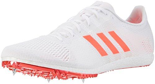 adidas Unisex-Erwachsene Adizero Avanti Laufschuhe Weiß (Ftw White/solar Red/silver Metallic)