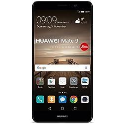 "Huawei Mate 9 SIM doble 4G 64GB Negro - Smartphone (15 cm (5.9""), 64 GB, 20 MP, Android, 7.0, Negro)"