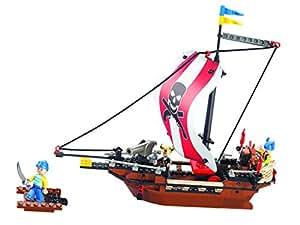 Sluban Pirates Warriors Building Block Set - 226 Pieces, Multi Colour