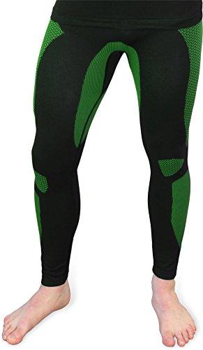 Funktionsunterwäsche Unterhose 'Anatomic Functional Wear' Herren Leggins ohne störende Naht Farbe Grün Größe S/M