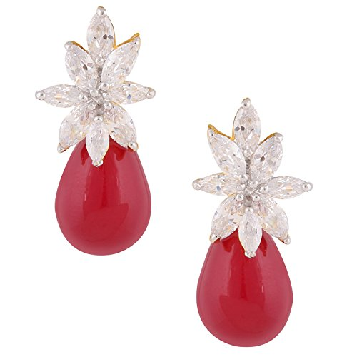 swasti-jewels-statement-zirkon-cz-rot-steinen-fashion-schmuck-floral-ohrstecker-fr-frauen