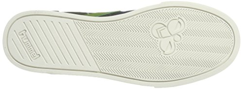 Hummel Slimmer Stadil Duo Canvas High, Chaussons Montants Mixte Adulte Vert (Rosin)