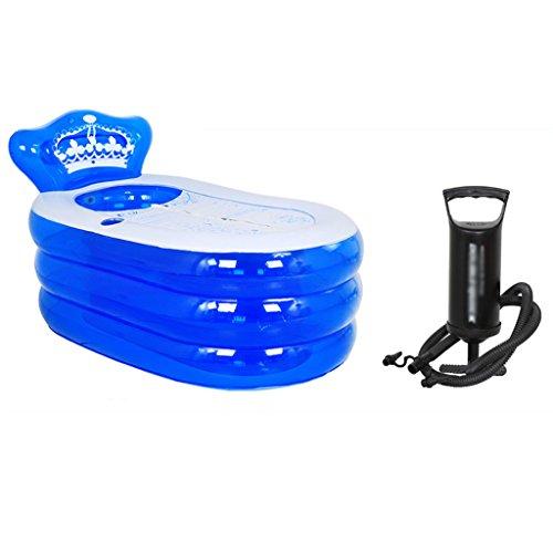Baignoire Gonflable Épaissir Baignoire Adulte Baignoire Pliable Baignoire pour Enfants Baignoire Baignoire Baignoire En Plastique Économiser De L'espace (Couleur : B, taille : 1)