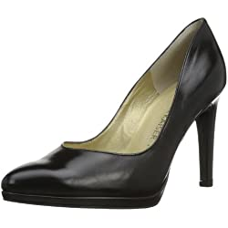 Peter Kaiser HERDI 78911 Damen Pumps, Schwarz (SCHWARZ CHEVRO 100 100), EU 38 (UK 5)