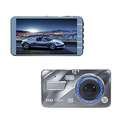 Ur HQCC Schlag-Kamera, vorne und hinten Auto-Kamera mit 1080P 4.0 in Schirm G-Sensor 170 Weitwinkel- Parkplatz Monitoning Bewegungsempfindliche