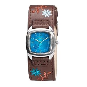 Kahuna AKLS-0225L – Reloj de Cuarzo para Mujer, Correa de Cuero Color