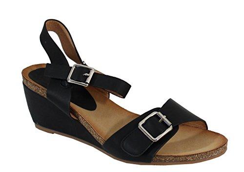 Sandale Confort - No Name - Spéciale Été Black