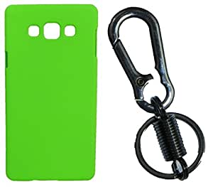 Toppings Hard Case Cover With Matallic KeyChain For Samsung Galaxy J2 - Green