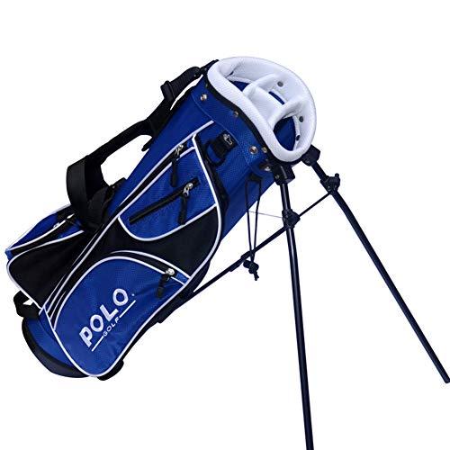LXYIUN Golftasche,Kindertasche Kind Üben Halterpaket,Blue