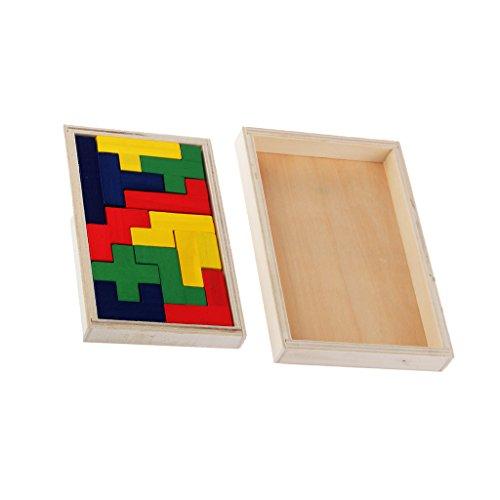 Baosity 12 pezzi da incastrare puzzle giochino intelligente per bimbi