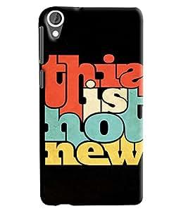 Expert Deal Best Quality 3D Printed Hard Designer Back Cover For HTC Desire 820