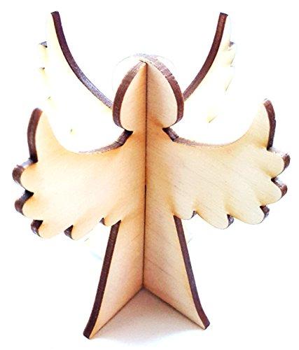 Angelo della decorazione di natale in legno