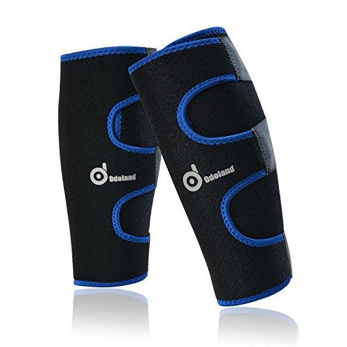 Coppia di vitello compressione manica - formato universale Leg Compression Socks - graduati Vitello sollievo dal dolore - Vitello Guardia Shin Stecche Maniche - per Running - Aumenta la circolazione