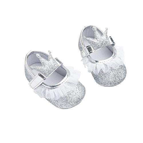 0dc5382424 DEBAIJIA Bebé Niña Zapato de Fiesta Princesa con Cinta Mágica para 6 ...