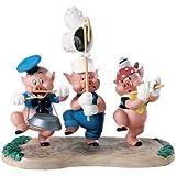 Enesco Walt Disney Classics **Three Little Pigs, Triumphant Trio** 4009288