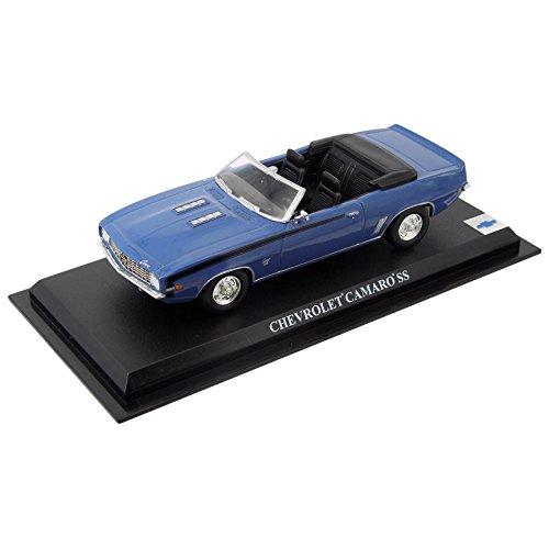 voiture-miniature-chevrolet-camaro-ss-1968-143-bleu