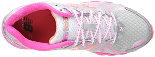 The New York Doll Collection W870 B V3, Scarpe da Corsa Donna Argento  (Argent (Ps3 Silver/Pink))