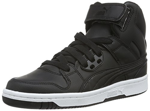 Puma Rebound Street L, Baskets Basses Mixte Adulte Noir (Black/Black)