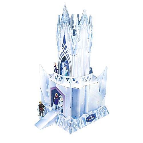 Disney Frozen - Maqueta de cartón del Palacio con personajes y muebles (Stor 08110)