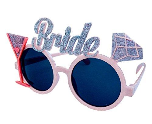 ride to Be Brille - Junggesellinnenabschied - Braut Frau Kostüm Deko Scherzbrille- Hochzeit ()