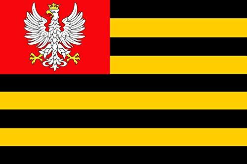 magFlags Flagge: Large Royal Household of Congress Poland | Królewskiego gospodarstwa domowego Kongresu Polska | Querformat Fahne | 1.35m² | 90x150cm » Fahne 100% Made in Germany
