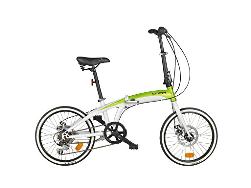 Preisvergleich Produktbild Fausto Coppi Car-Bike Faltrad weiß/grün
