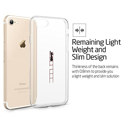iPhone 6S Case, Walmark (TM) Protective Bumper Shock Absorbent Ultra Thin Light Weight Scratch-Resistan Perfect Fit Clear Soft TPU Back Cover for iPhone 6 4.7inch-Little Lamb