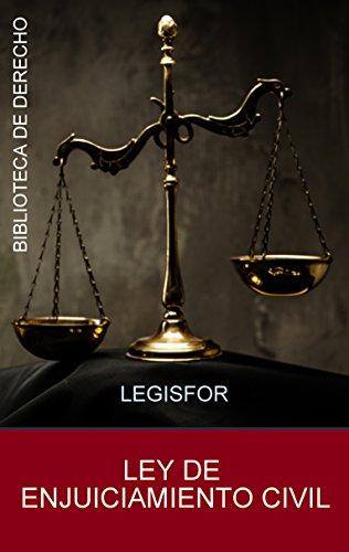 Ley de Enjuiciamiento Civil: edición septiembre 2018. Con índice sistemático por Legisfor
