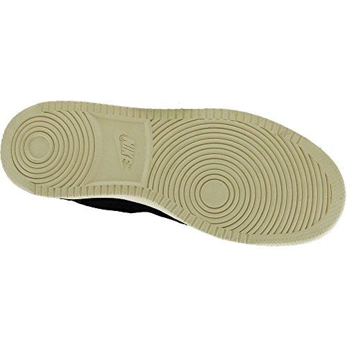 Nike Court Borough Mid Premium, Sneaker a Collo Alto Uomo Nero