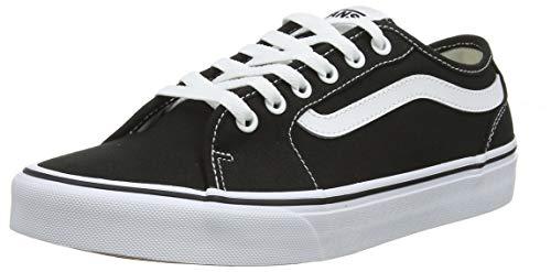 Vans Filmore Decon Sneaker Uomo, Nero ((Canvas) Black/White 187) 40 EU