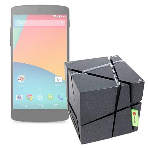 Enceinte sans Fil pour Smartphone Huawei Y5, Cat S30 et Huawei Y3 - compacte avec Jeux de lumière, par DURGAADGET